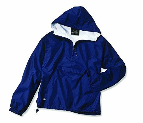 Charles River Apparel Women's Front Pocket Classic Pullover - Navy, Medium