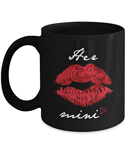 Shirt White Her Mini Kiss Gift For Mother's Day Coffee Mug 11oz Black