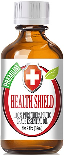 Best Health Shield (60ml) (Compare to Thieves Oil by Young Living, Four Thieves by Eden's Garden) 100% Pure, Therapeutic Grade Essential Oil Blend - 2 (oz) Ounces