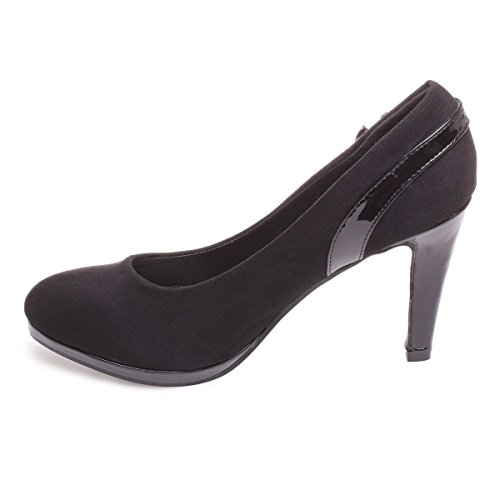 Zapatos De Negro Modeuse Material La Vestir Mujer Sintético 5F4qWwcE