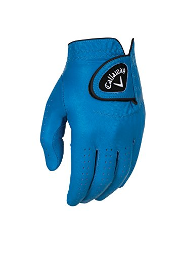 (Callaway 2016 Opticolor Glove Mens Left Blue XLarge)