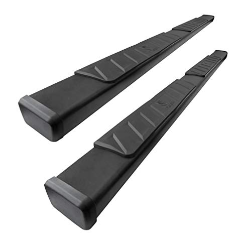 Tyger Auto 4 Inch TG-RS2D40208 Riser for 2019 Dodge Ram 1500 Crew Cab (Not for Classic) 4inch Black Side Step Nerf Bars Running Boards