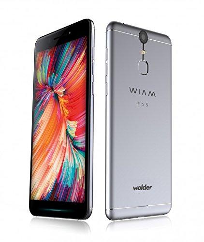 Wolder-WIAM-65-Smartphone-Libre-55-IPS-FHD-OCTA-CORE-20-32-GB-Flash-3-GB-RAM-1321-Mpx-Carga-Rpida-Sensor-de-Huellas-Android-60-Marshmallow-Color-Pro-Grey