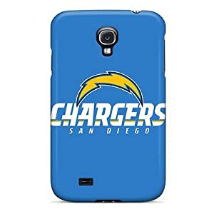 L.M.CASE Scratch-free Phone Case For Galaxy S4- Retail Packaging - San Diego Chargers