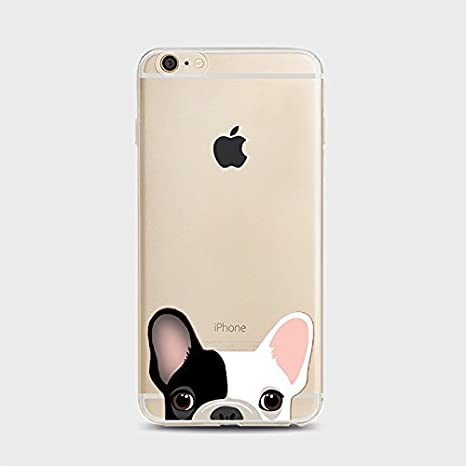 coque iphone 6 silicone chien