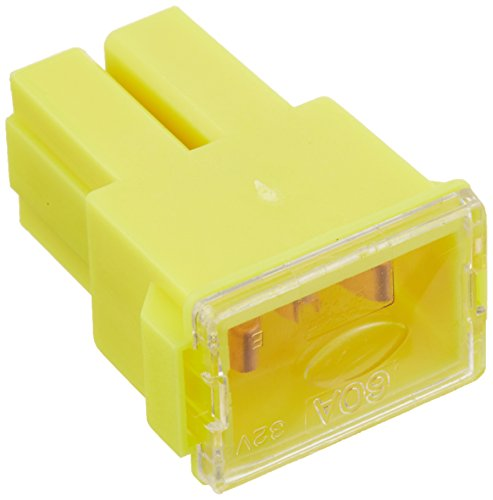 Bussmann FLF-60 Female Terminal Fusible Link (Automotive - 60 A (Yellow)), 1 Pack