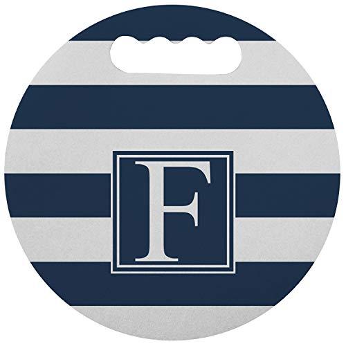 (RNK Shops Horizontal Stripe Stadium Cushion (Round) (Personalized))