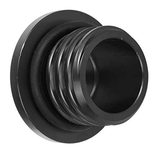 Aluminum CNCFuel Gas Tank Cap with Rubber WasherFor Harley SportsterDavidson1200 883(Black) by Gator parts (Image #2)