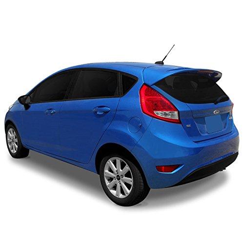 Mount Custom Style Spoiler (FIESTA11 Lighted Custom Style Flush Mount Spoiler for Ford Fiesta - INGOT SILVER (UX))