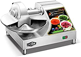 KWS BC-400 Commercial 1350W 1.5HP Stainless Steel Buffalo Chopper Bowl Cutter Food Processor