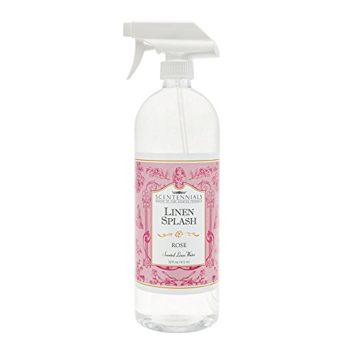 Scentennials Linen & Room Spray ROSE 32oz - A MUST HAVE for all your linens, laundry basket or just spray around the (Water Fragrance Spray)