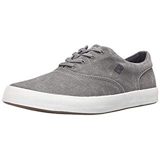 Sperry Men's Wahoo CVO Fashion Sneaker, Grey, 8 M US