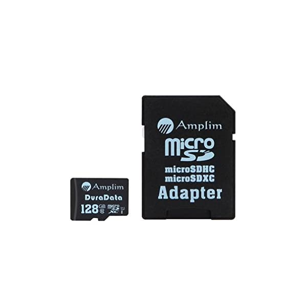 Amplim 128GB MicroSDXC Card With Adapter