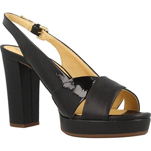 Shoes Black D Brand Heeled Shoes MAUVELLE Colour Black Model Heeled Black Geox FxAqwaC