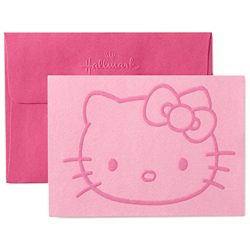 - Hallmark Hello Kitty Blank Cards (10 Cards with Envelopes)