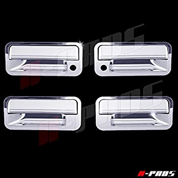 FOR 1988~1998 CHEVY C10 92~99 SUBURBAN GMC YUKON 4DR CHROME DOOR HANDLE COVERS