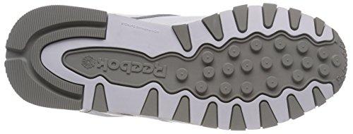 Cassé Chaussures whitecarbonredgrey Classic Archive De 0 Leather Blanc Homme Running Reebok 8Oqzcg7g