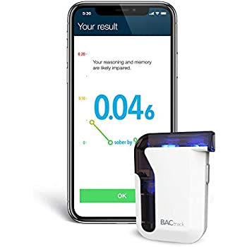 Amazon com: BACtrack S80 Breathalyzer | Professional-Grade