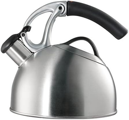 OXO BREW Uplift Tea Kettle, Brushed Stai