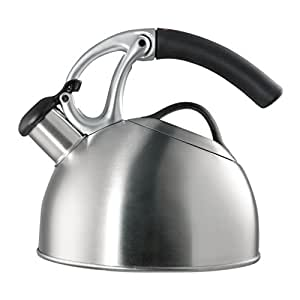 OXO Good Grips Uplift Tea Kettle, Brushed Stainless Steel