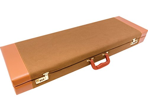 MidwayUSA Deluxe Cotton Canvas Lockable Takedown Shotgun Hard Case