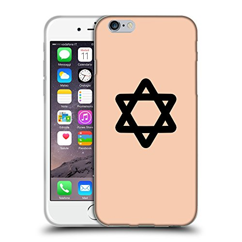 "GoGoMobile Coque de Protection TPU Silicone Case pour // Q08470604 Religion 11 Abricot // Apple iPhone 6 PLUS 5.5"""