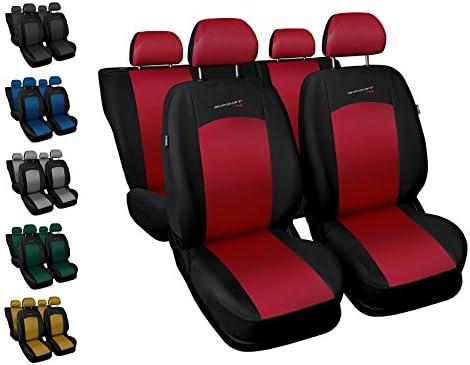 Gesteppter Sitzbezüge  SUZUKI  Wagon R+ Jimny  Schonbezüge COMFORT Schwarz