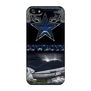 Iphone 5/5s Dallas Cowboys 2 Print High Quality Tpu Gel Frame Case Cover