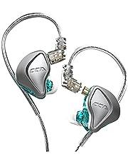 CCA NRA Hi-Res hörlurar 1 Elektrostatiska drivenheter+1 Dynamic 3 Magnetic Dynamic Unit HiFi Hybrid Wired med avtagbar kabel (Utan mikrofon)
