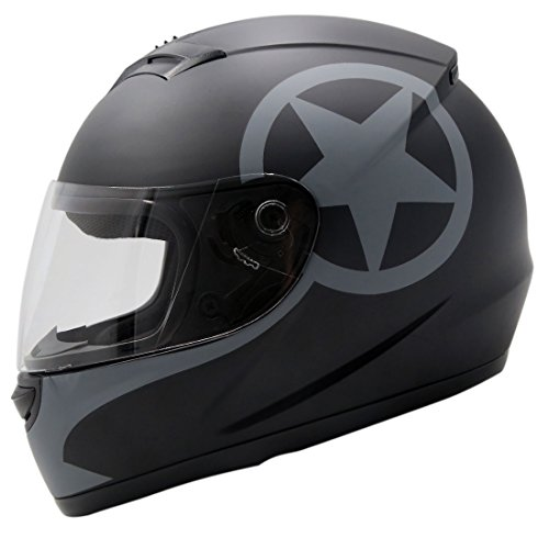 Matte Street Full Face Helmet - 7