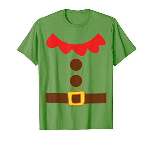 Elf Costume T-Shirt Santa Helper Christmas Elves Shirt ()