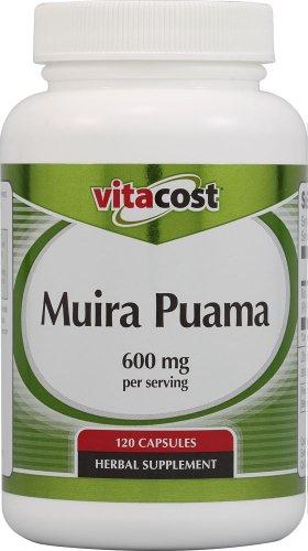 Vitacost Muira Puama – 600 mg per Serving – 120 Capsules