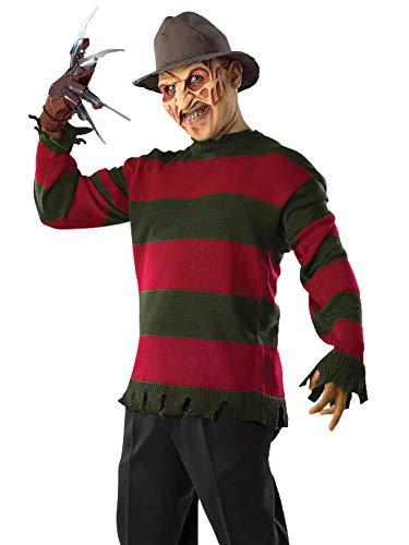 Forum Novelties Unisex-Adult's Standard Freddy Sweater-std, Multi, Standard -