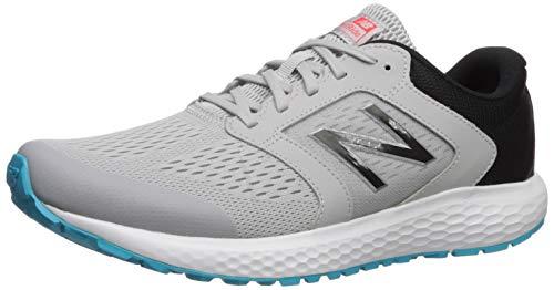 New Balance Men's 520v5 Cushioning Running Shoe, Grey/Blue/Silver, 11.5 D US