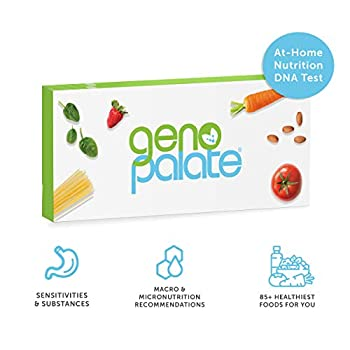 Image of GenoPalate Home DNA Test, Health & Nutrition Genetic Profile for Food Sensitivities & The 85+ Healthiest Foods for You Health and Household