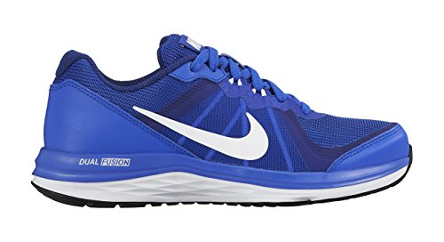 Nike Unisex-Kinder Dual Fusion X 2 (Gs) Laufschuhe Blau (Racer Blue/White-Deep Royal Blue-White)