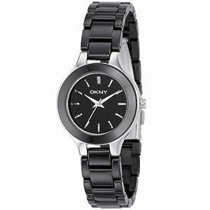 DKNY Ceramic Bracelet Black Dial Women's watch #NY4887 by DKNY