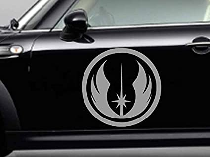 Jedi Order Symbol Logo Vinyl Decal Sticker Bumper Window Wall Star Wars
