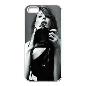 iPhone 4 4s Cell Phone Case White Angelina Jolie Black And White Nxgoa