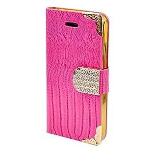 compra Sólido Color del marco Oro Diamante de cuerpo completo para el iPhone 5/5s (colores surtidos) , Amarillo