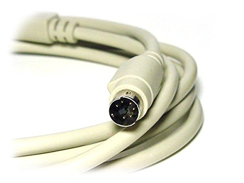 Monoprice 100094 10-Feet PS/2 MDIN-6 Male to Male Cable (100094)