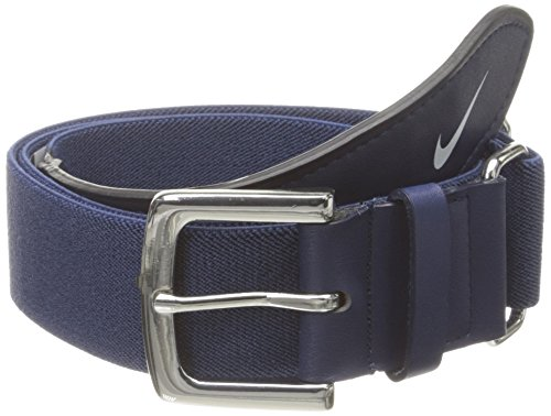 Nike Adult Baseball Belt (Navy/White, OSFM)