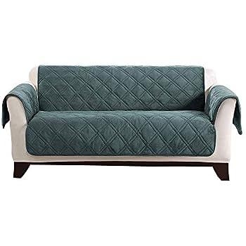 Amazon Com Surefit Triple Protection Loveseat Furniture