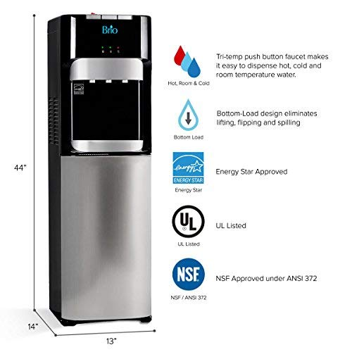 Brio Essential Series Bottom Load Water Cooler