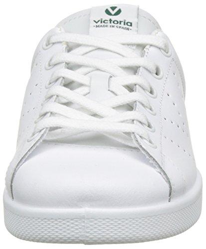 VictoriaDeportivo Basket Piel - botas de caño bajo Unisex adulto Vert (Verde)
