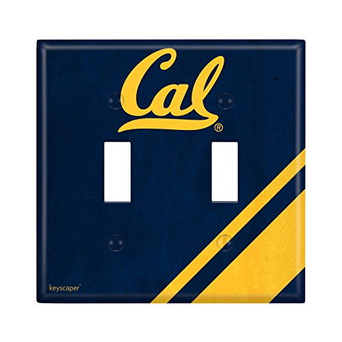 California Golden Bears Double Toggle Light Switch Cover NCAA