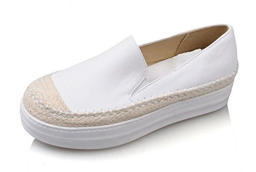 escoge los zapatos del elevador zapatos de la señora de primavera y otoño mujeres ocasionales mollete zapatos gruesos de la corteza Sra zapatos planos , US8.5/ EU40 / UK6.5/ CN40