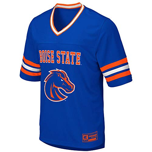 Colosseum Mens Boise State Broncos Football Jersey - L