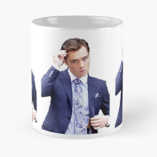 Chuck Bass Scandalous Gossip Girl Xoxo Coffee Mugs Unique Ceramic Novelty Cup