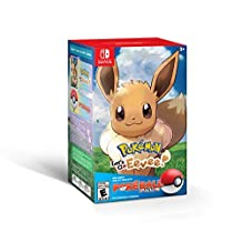 Pokemon Let's Go Eevee + Poke Ball Plus for Nintendo Switch - Eevee Poke Ball Edition